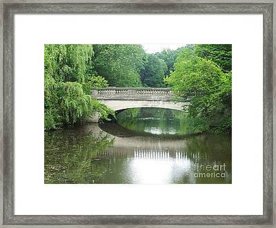 Genesee Valley Bridge Framed Print