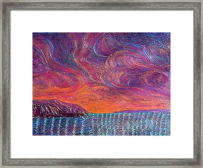 Genesis 1 2 Framed Print by J Michael Orr