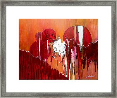 Genesis - Love At First Sight Framed Print by Jim Whalen