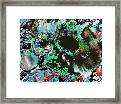 Genesis Of The Eye Framed Print by Ricardo Mester