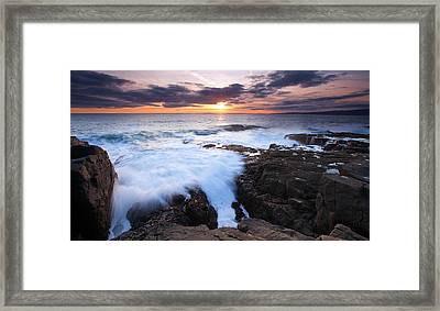 Genesis Framed Print by Patrick Downey