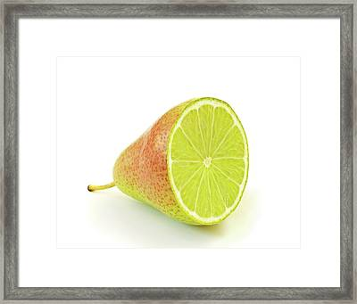 Genetically Modified Fruit Framed Print