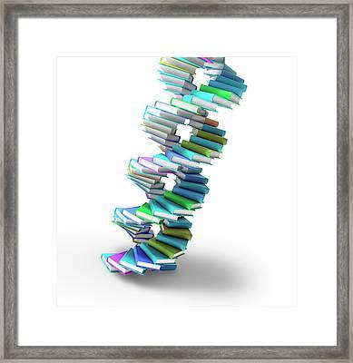 Genetics Framed Print