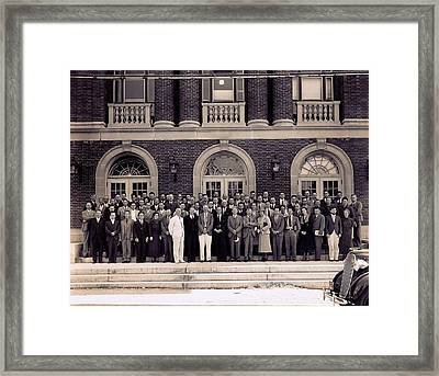 Genetics Society Of America Framed Print by American Philosophical Society