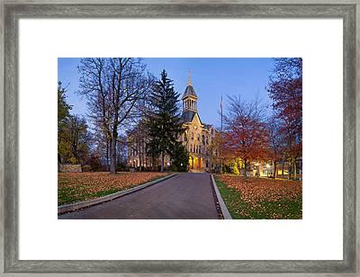 Geneva College Framed Print by Emmanuel Panagiotakis