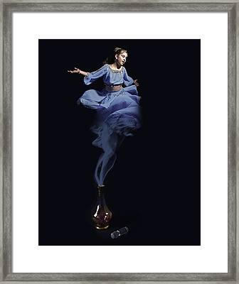 Genie Framed Print by Andre Faubert