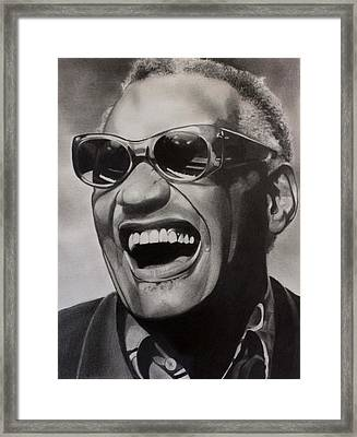 Genius Of Soul Framed Print by Brian Broadway