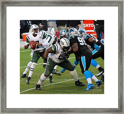 Geno In The Pocket Framed Print