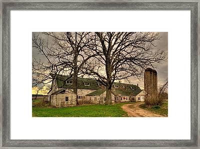 Genoa Farm Framed Print by Daniel Lee Brown