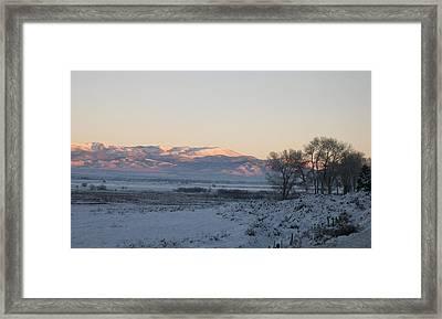 Genoa Nevada Winter Framed Print