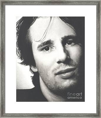 Gentle And Kind -- Jeff Buckley Framed Print by N Faulkner
