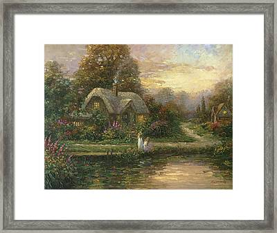 Gentle Beauty Framed Print by Ghambaro