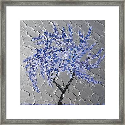 Gentle Breeze Framed Print by Cathy Jacobs