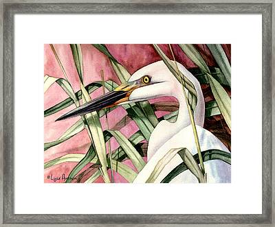 Gentle Breeze Framed Print by Lyse Anthony