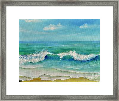 Gentle Breeze Framed Print by Teresa Wegrzyn