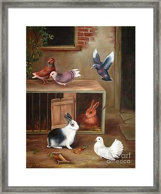 Gentle Creatures Framed Print