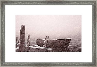 Gentle Current Framed Print by Bob Orsillo