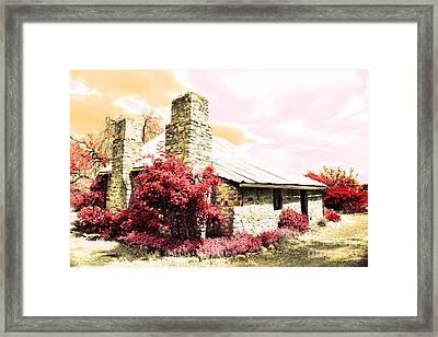 Gentle Farm House Framed Print