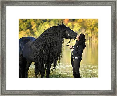 Gentle Giant Frederik The Great Framed Print