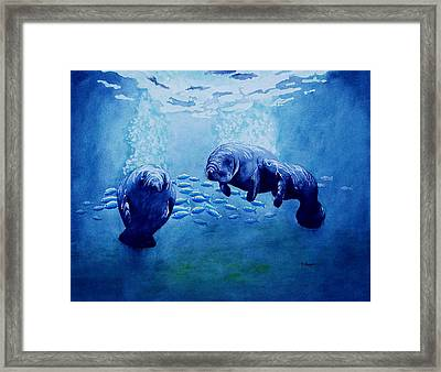 Gentle Giants Framed Print
