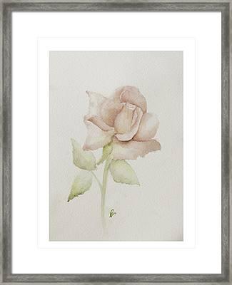 Gentle Grace Framed Print by Nancy Edwards