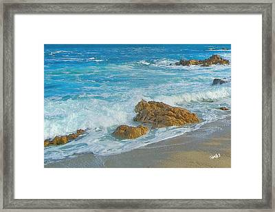 Gentle Kiss Framed Print by Jim Pavelle
