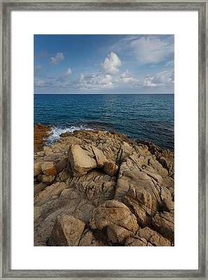 Framed Print featuring the photograph Gentle Light by Paul Indigo