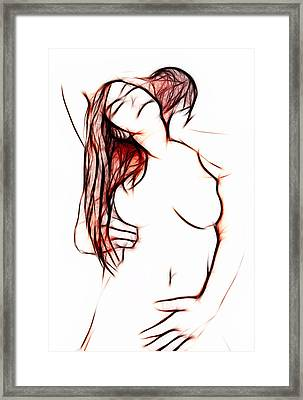 Gentle Lover Framed Print