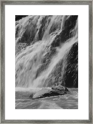 Gentle Splash Framed Print by Amanda Powell