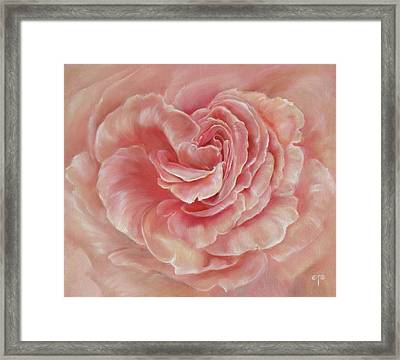 Gentle Framed Print by Tanya Byrd