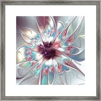 Gentle Touch Framed Print by Anastasiya Malakhova