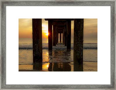 Gentle Wakening Framed Print by Kathy Ponce