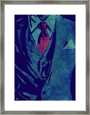 Gentleman Framed Print by Giuseppe Cristiano