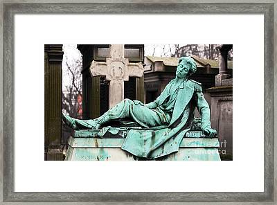 Gentleman To The End Framed Print by John Rizzuto