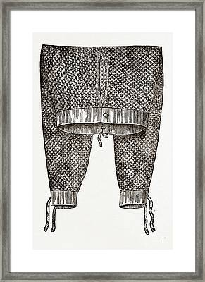 Gentlemans Drawers Framed Print by Litz Collection