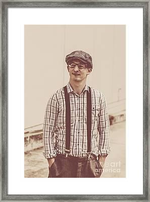 Gentlemen's Fashion Accessories Framed Print by Jorgo Photography - Wall Art Gallery