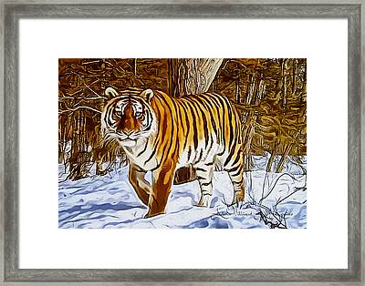 Gently Great Framed Print