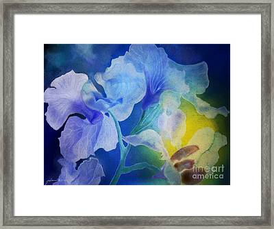 Gently Into The Light Framed Print