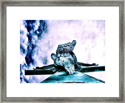 Framed Print featuring the photograph Gently Off The Edge by Heather King