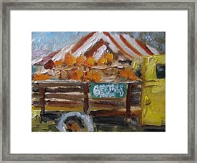 Gentrys Farm Framed Print