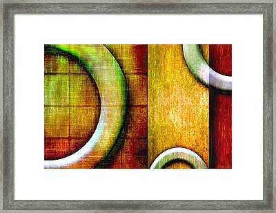 Geo Framed Print by Melisa Meyers