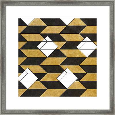 Geo Pattern II Framed Print by South Social Studio