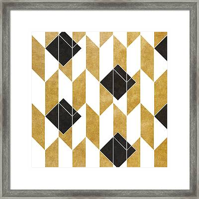 Geo Pattern IIi Framed Print by South Social Studio