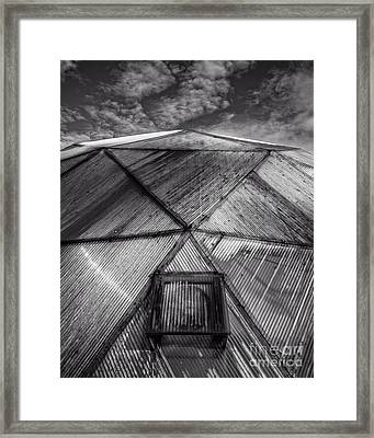 Geodesic Dome Framed Print