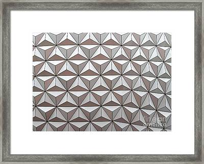 Geodesic Framed Print by Sabrina L Ryan