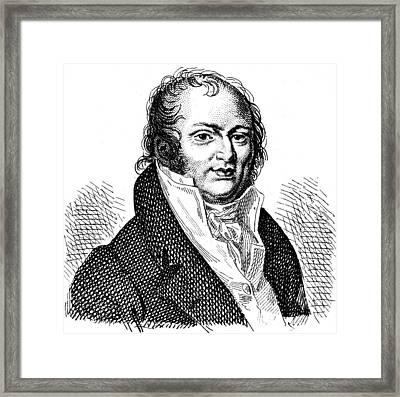 Geoffroy Saint-hilaire(1772-1844) Framed Print