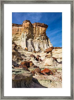 Geologic Playground Framed Print