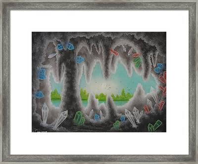 Geology And Mineralogy Framed Print