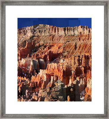 Geology Triptych - Three Framed Print