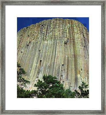 Geology Triptych - Two Framed Print